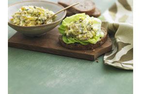 Dill & Caper Egg Salad Sandwich