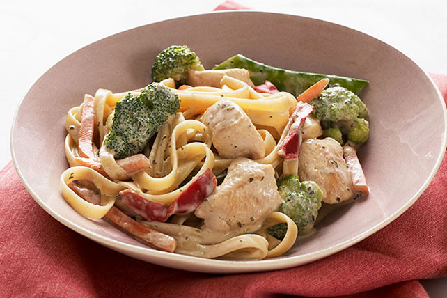 Chicken Pasta Primavera Made Over Image 1