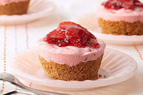 Individual Strawberry Cups