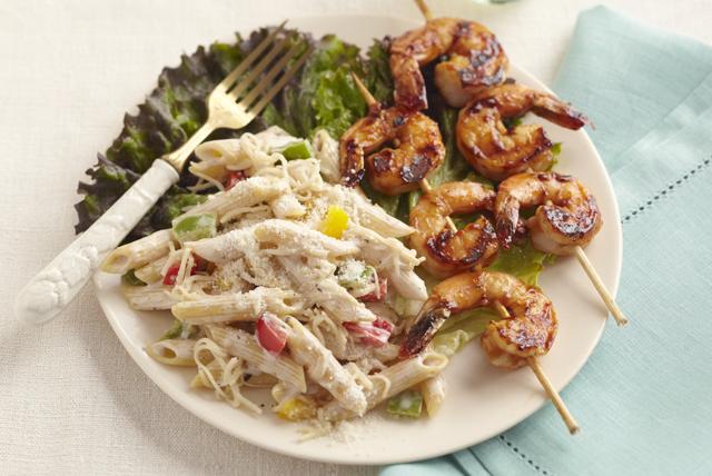 BBQ Shrimp-Pasta Salad Image 1