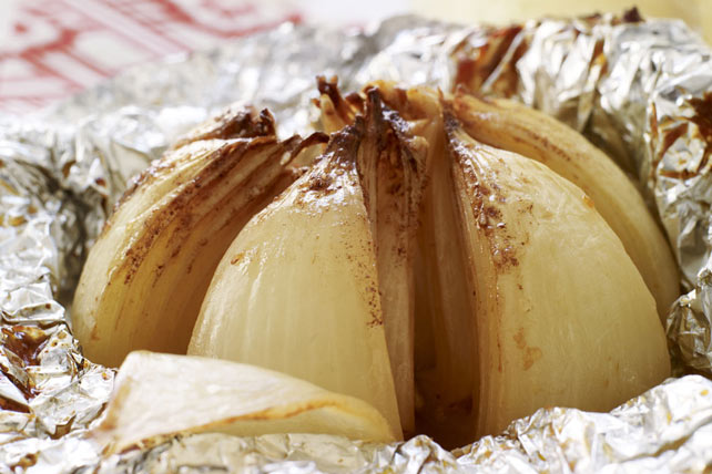Grilled Onion Blossom Image 1