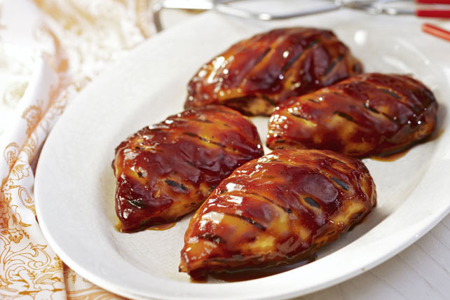 Easy Grilled BBQ Chicken Breasts Image 1