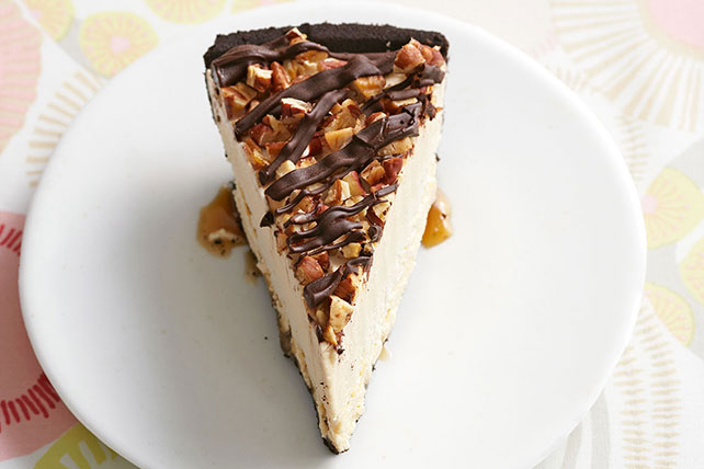 Frozen Peanut Butter Turtle Pie Image 1