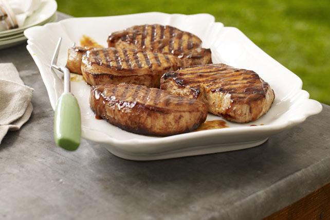 Saucy Grilled Pork Chops Image 1