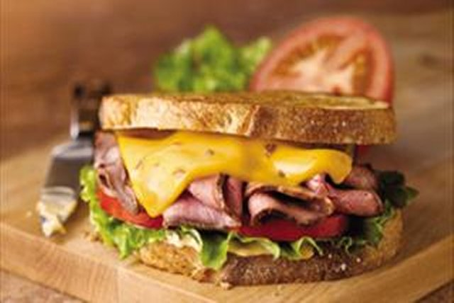 Classic Roast Beef with Bacon Cheddar Image 1