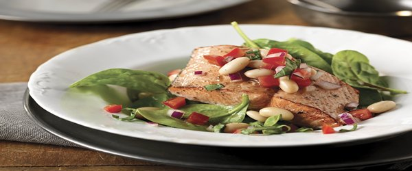 Salmon & White Bean Salad