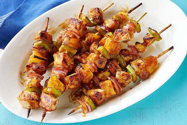 Pork and Pineapple Kabobs