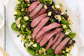 Southwest-Style Steak Salad
