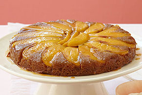 Mango-Ginger Upside-Down Cake