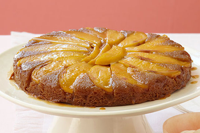 Mango-Ginger Upside-Down Cake Image 1