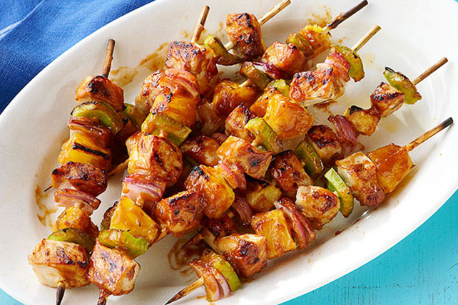 Pork and Pineapple Kabobs Image 1