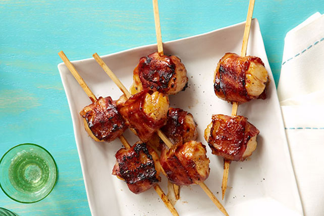 BBQ Bacon-Wrapped Scallops