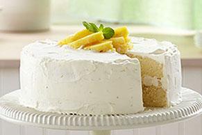 Pineapple Mojito Cake