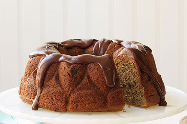 Banana-Chocolate Chip Cake Image 1