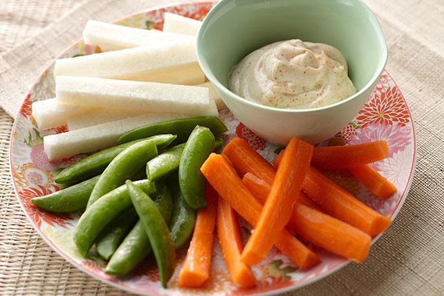 Verduras con mayonesa picante Image 1