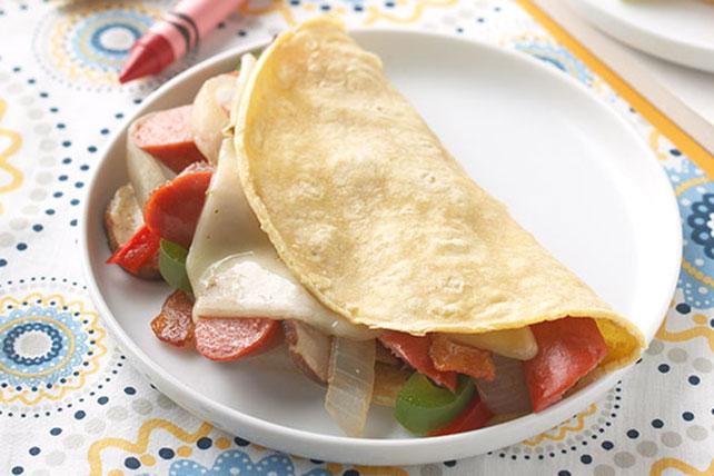 Fajitas de salchichas Image 1