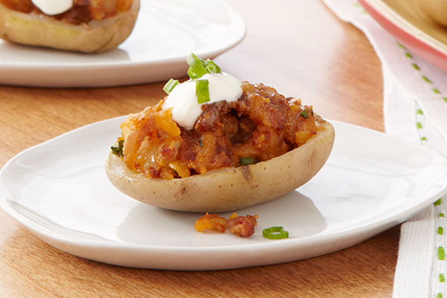 BBQ Chorizo-Stuffed Potatoes Image 1