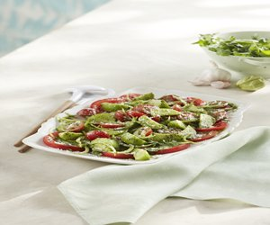 Fresh Tomato & Tomatillo Salad