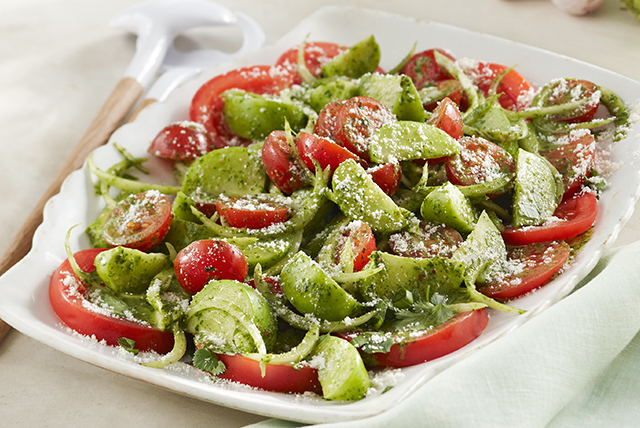 Fresh Tomato & Tomatillo Salad Image 1