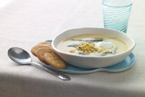 Roasted Corn & Poblano Soup