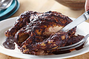 Ancho Chocolate BBQ Chicken