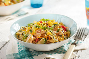 Summer Vegetable Pasta Toss