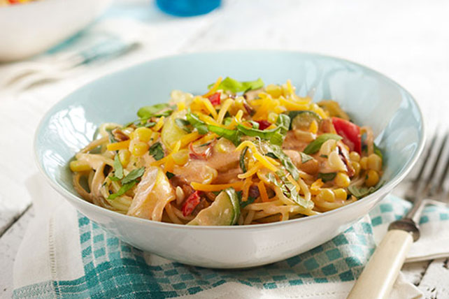 Summer Vegetable Pasta Toss Image 1