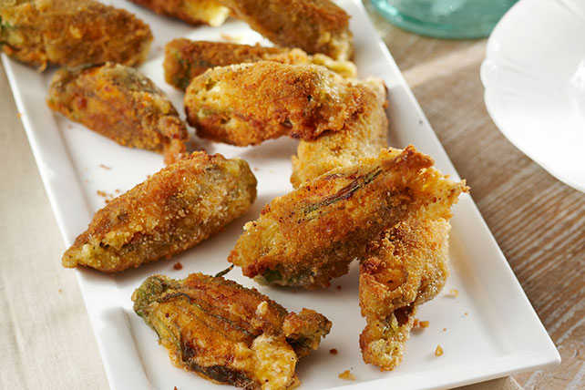 Stuffed Squash Blossoms Image 1