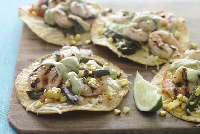 Grilled Shrimp Tostadas Image 1