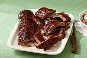 Smok'n Barbecued Ribs