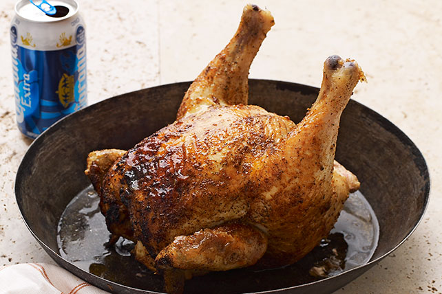 Beer Can-Barbecue Chicken Image 1