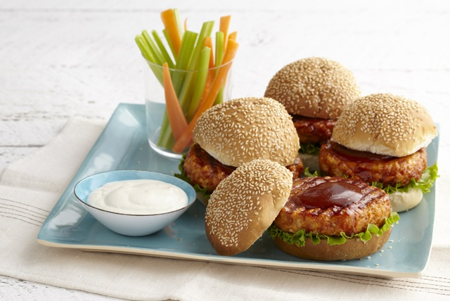 Buffalo Chicken Burgers Image 1