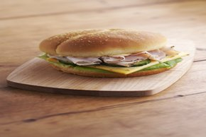 Pick-a-Pepper Turkey Sandwich