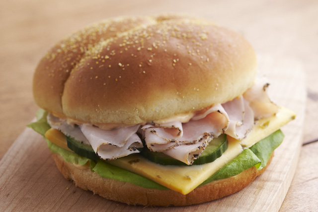 Pick-a-Pepper Turkey Sandwich Image 1