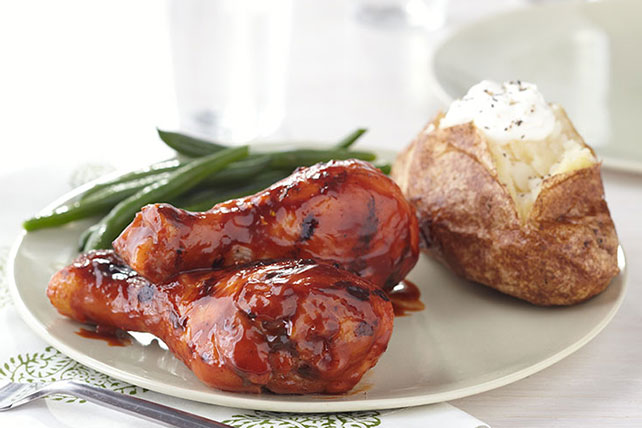 Grilled Spicy Teriyaki Drumsticks Image 1