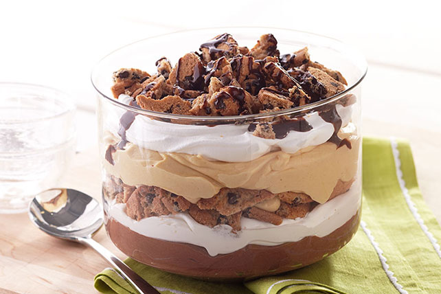 Peanut Butter-Chocolate Trifle Image 1