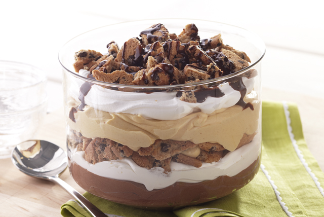 Peanut Butter-Chocolate Trifle