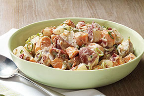Sweet & White Potato Salad