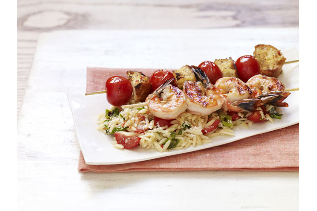 Shrimp Bruschetta with Orzo Pasta Image 1