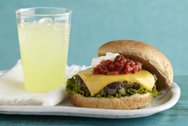 Southwest Black Bean Burgers Image 1