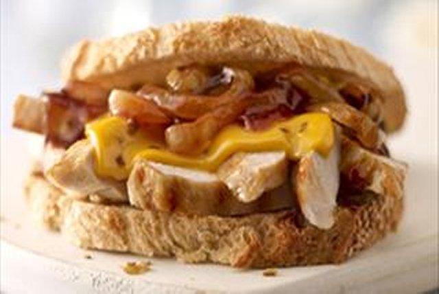 Cheddar Bacon Bbq Chicken Breast Sandwich Kraft Recipes