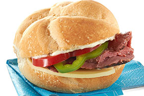 Robust Roast Beef Sandwich