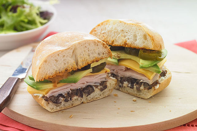 Cheddar Turkey & Black Bean Torta Image 1