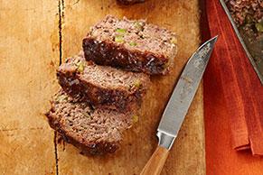 Pastel de carne con pimiento verde