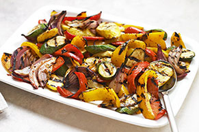 Grilled Dijon Mixed Vegetables