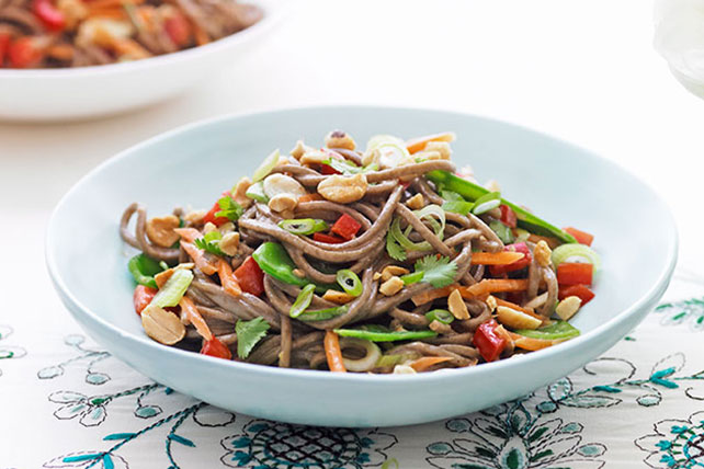 Fast Asian Noodle Salad Image 1