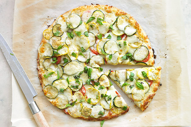 Summer Squash Pizza Image 1