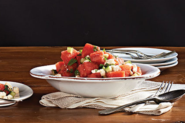 Refreshing Watermelon Salad Image 1