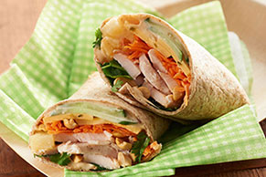 Kung Pao Chicken Wrap
