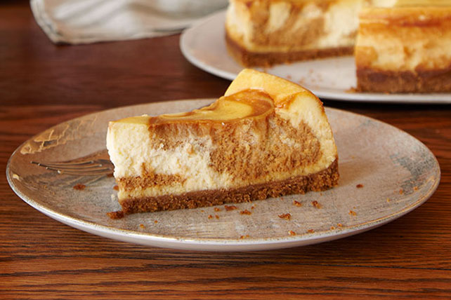 Dulce de Leche Swirl Cheesecake Image 1